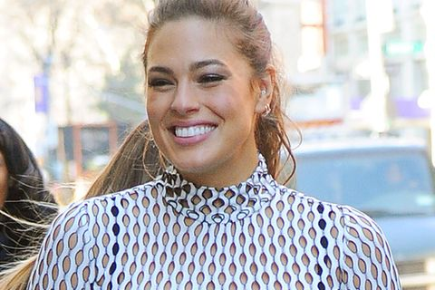 Ashley Graham: Bei einem Besuch in New York