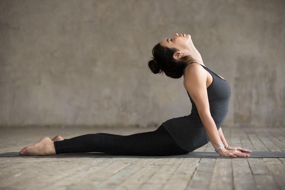 Hatha Yoga: Kobra