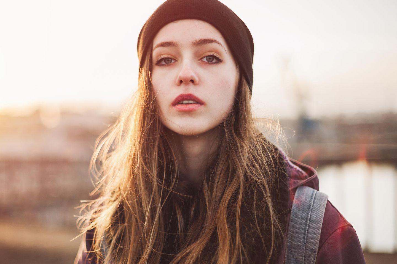 Egoismus: Eine arrogante, junge Frau