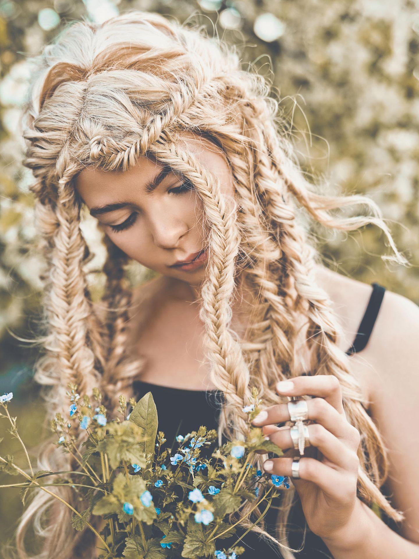Hippie Frisuren: Die schönsten Frisuren im Hippie-Look  BRIGITTE.de