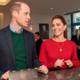 Herzogin Kate: mit Prinz Harry beim Eis essen