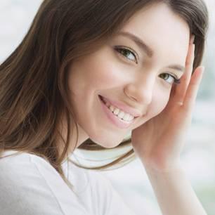Porträt einer hübschen Frau