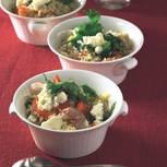 Paprika-Couscous-Salat mit Schafkäse
