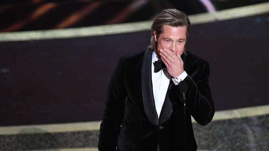 Brad Pitt: Gefühlvolle Dankesrede an seine Kinder