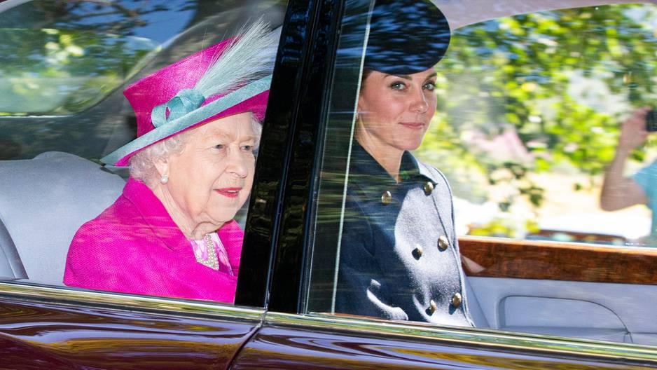Adelsexpertin: Kate ist jetzt die wichtigste Stütze für die Queen