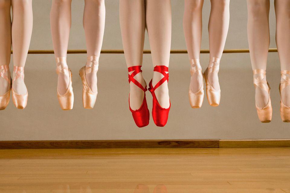 Ballerina: Ballerinen nebeneinander