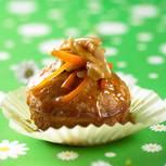 Muffins mit Möhren und Mandeln