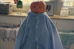 Pumpkinhead: Ein selbst gebastelter, süßer Liebesbeweis aus einem Kürbis und einem Hemd