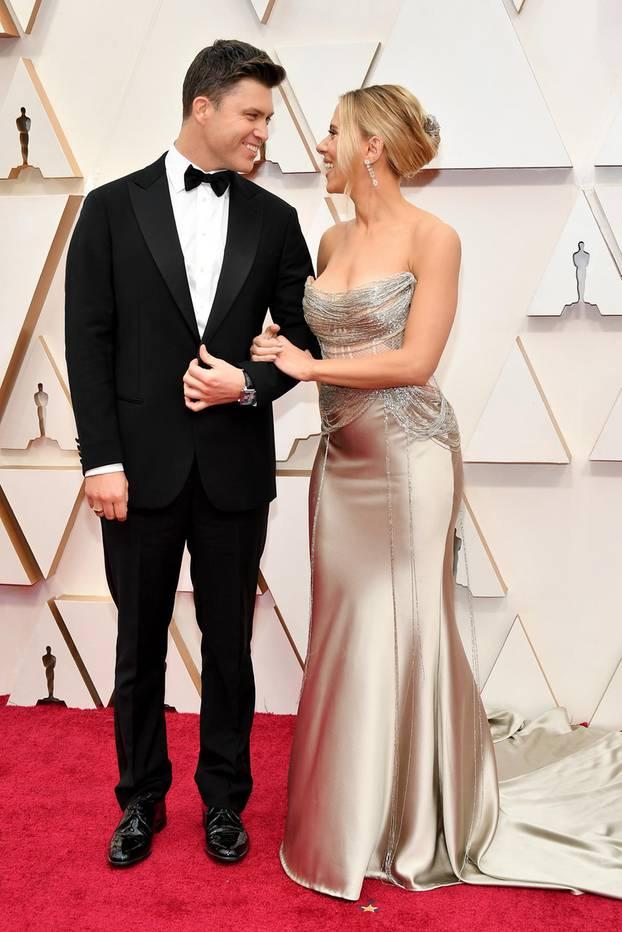 Scarlette Johansson und Colin Jost
