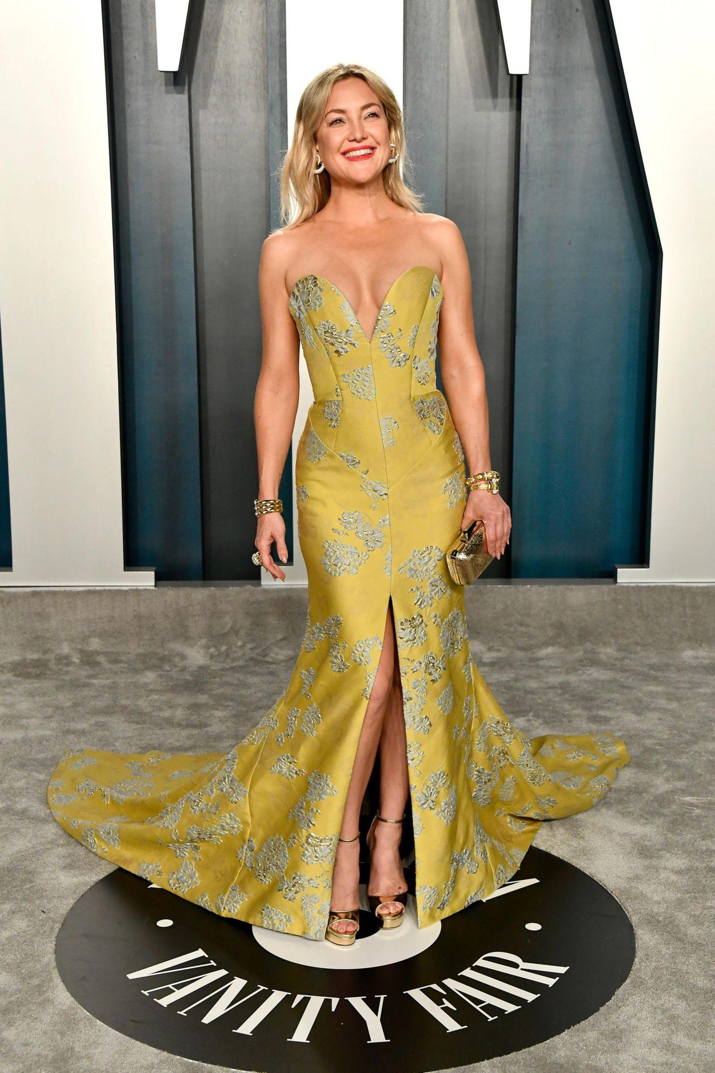 Oscars 2020: Kate Hudson im gelben Kleid