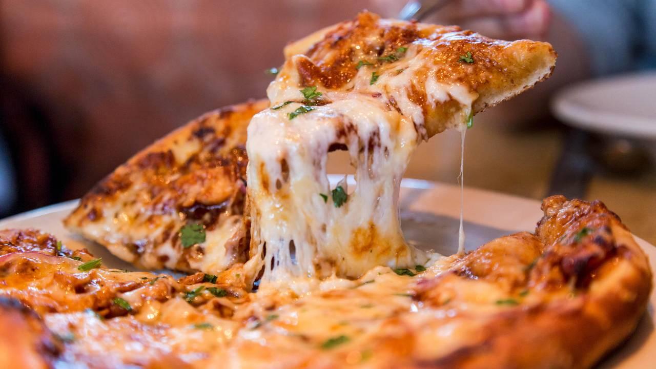 Kleine pizza gewicht