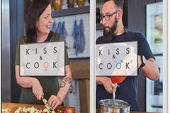 Cover Kiss and Cook