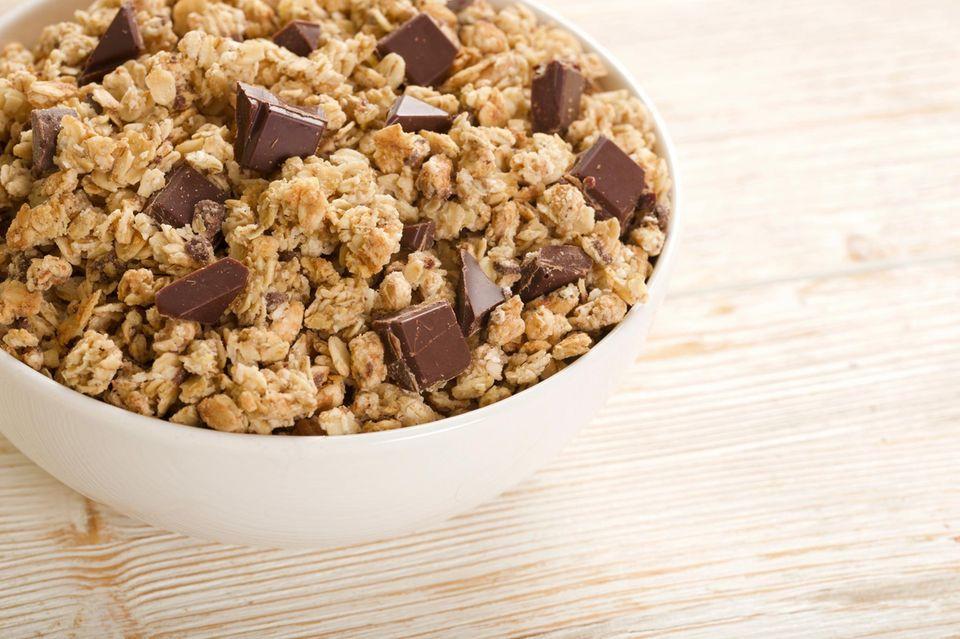 Kalorien-Check: Schokoladenmüsli