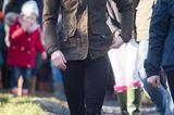 Herzogin Kate: mit Stiefeln unterwegs
