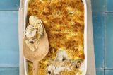 Fenchel-Fisch-Auflauf mit Reis