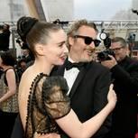 Verliebte Paare: Joaquin Phoenix und Rooney Mara auf dem roten Teppich