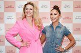Promi-Events: Michelle Hunziker und Nazan Eckes posieren