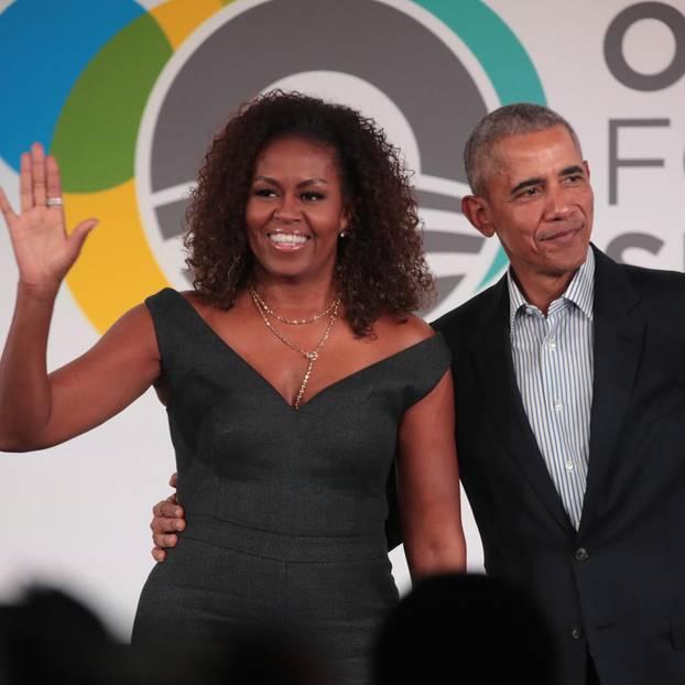 Michelle Obama: Foto von ihr und Barack Obama