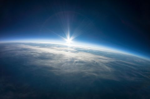 Die Erde aus dem Weltall