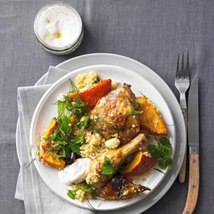 Hähnchen mit Kürbis-Couscous