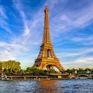 Eiffelturm bei Tag