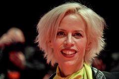 Katja Eichinger lachend