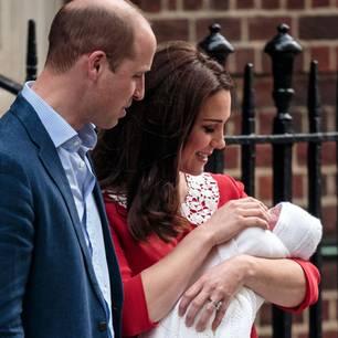 Harry und Cate mit Sohn George