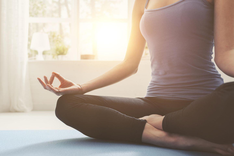 Yoga Ausschnitt