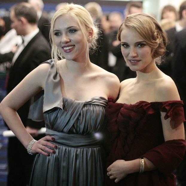 Blond-Braun Duo: Scarlett Johansson und Natalie Portman
