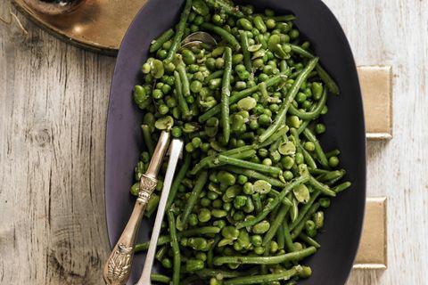Erbsen-Bohnen-Gemüse