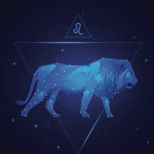 Steinzeichen Löwe