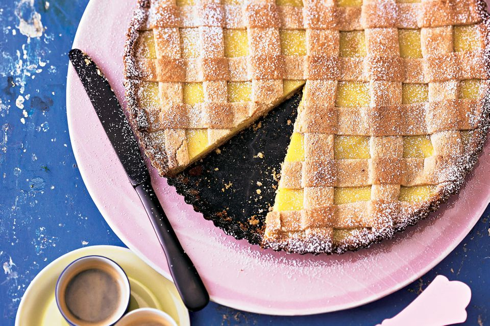 Crostata al Limone, Zitronentarte