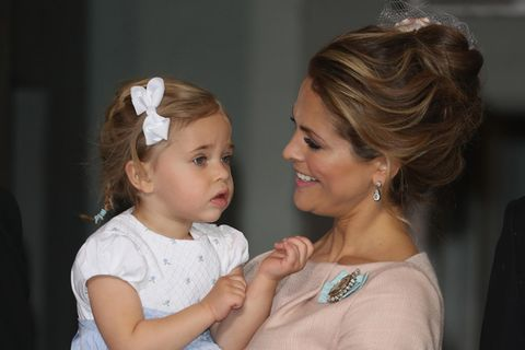 Prinzessin Madeleine von Schweden mit Tochter Leonore