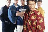Boybands: Boyzone posieren