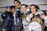 Boybands: Backstreet Boys posieren