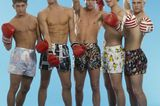 Boybands: Take That posieren in Unterhosen
