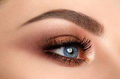 Geschminktes Auge