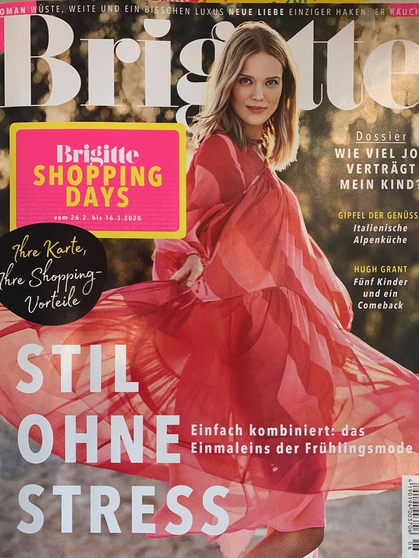Du bekommt nicht genug vom BRIGITTE Magazin? Wir auch nicht! Hol dir das Heft deswegen direkt nach Hause.  Mit der BRIGITTE Shopping Card sparst du beim BRIGITTE Abovom 26. Februar bis 16. März 2020 32 Prozent