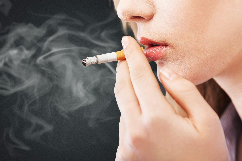 Küssen raucherin Ist Raucher