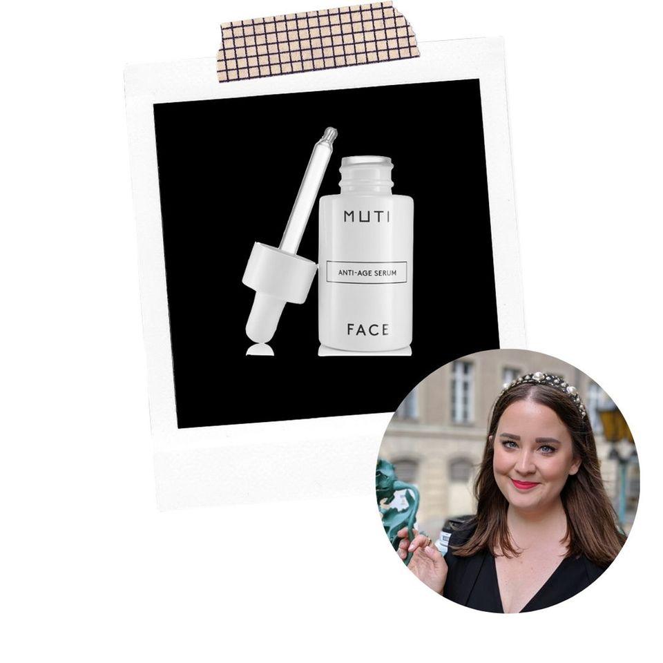 Mode- und Beautyredakteurin Ann-Christin hat das MUTI Anti-Aging Serum getestet
