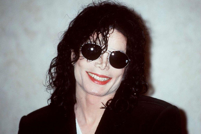Michael jackson auf Pressekonferenz