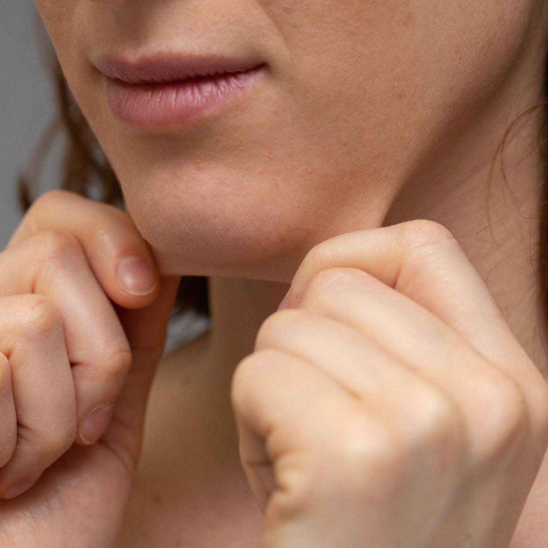 Nach schwabbelig haut schwangerschaft Schlaffe Haut