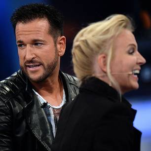 Claudia Norberg und Michael Wendler bei Promi Big Brother