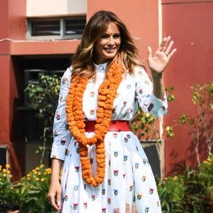 Melania Trump: Fashion-Fail lässt sie straucheln