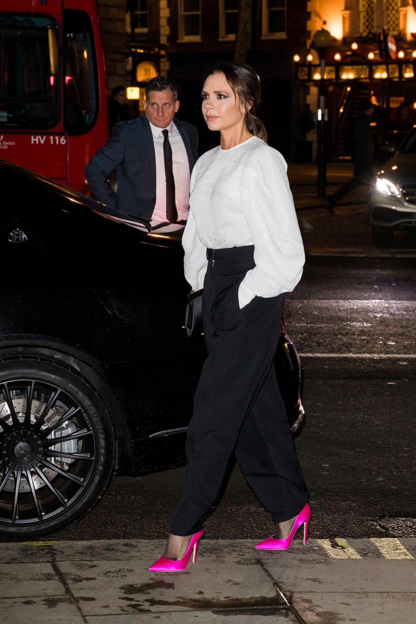 Victoria Beckham: unterwegs