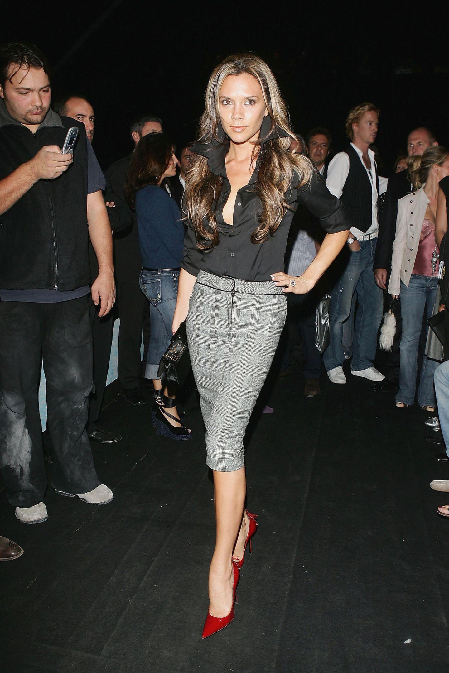Victoria Beckham: posiert