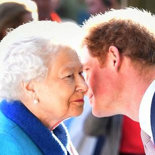 Die Queen verabschiedet sich von Harry