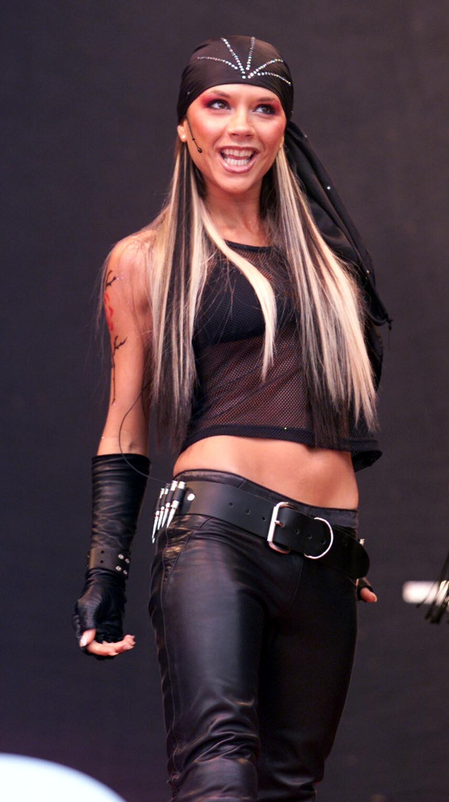 Victoria Beckham: auf der Bühne