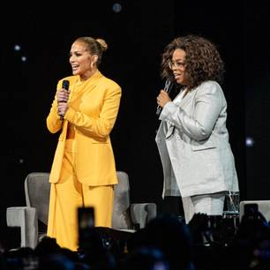 Jennifer Lopez und Oprah Winfrey