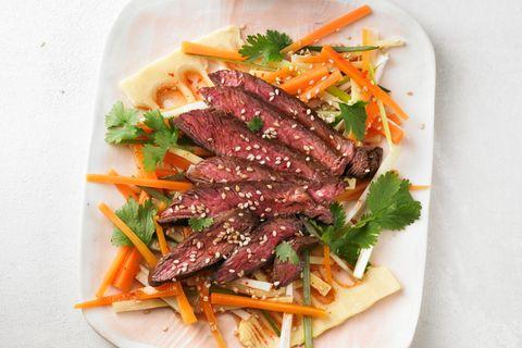 Asiatischer Rindfleischsalat